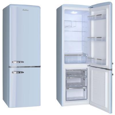 Kombinovaná chladnička Amica KGCR 387100 L VADA VZHĽADU, ODRENINY