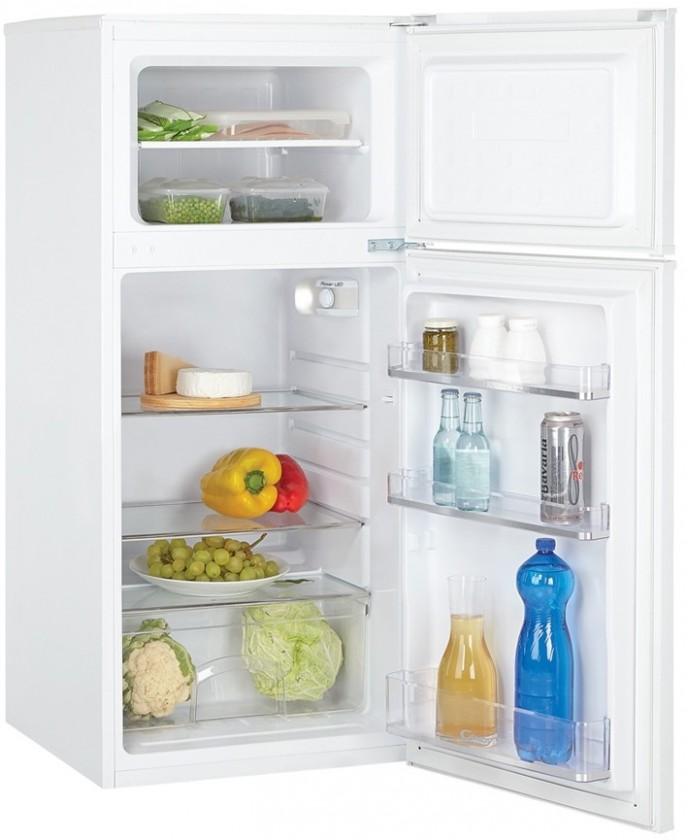 Kombinovaná chladnička Candy CCDS5122W VADA VZHLEDU, ODĚRKY