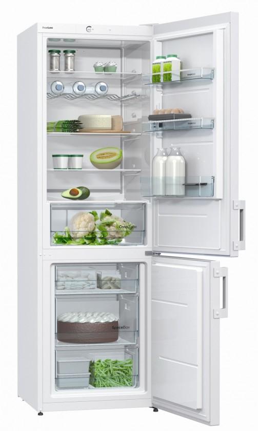 Kombinovaná chladnička Gorenje RK 6192 AW VADA VZHĽADU, ODRENINY