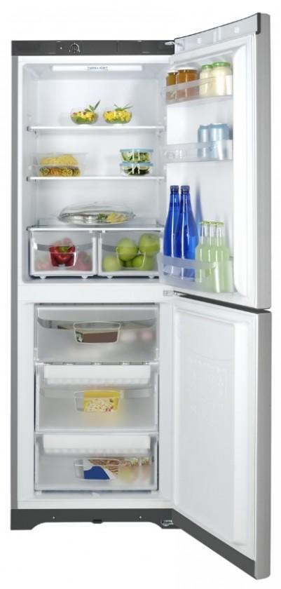 Kombinovaná chladnička Indesit BIAAA12X