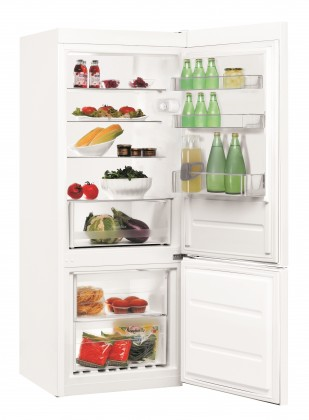 Kombinovaná chladnička Indesit LI6 S1 W