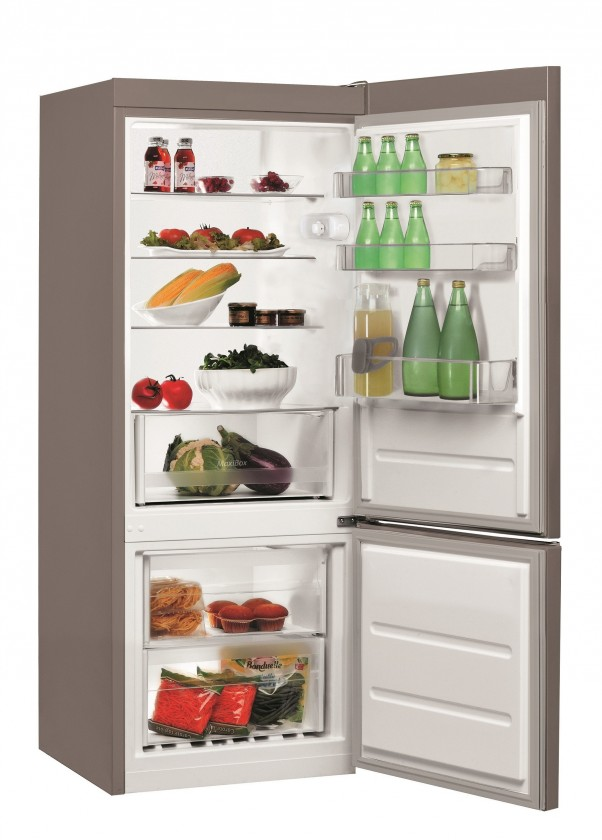 Kombinovaná chladnička Indesit  LI6 S1 X
