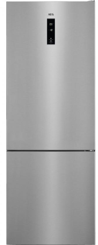 Kombinovaná chladnička Kombinovaná chladnička s mrazničkou dole AEG RCB65121TX A++