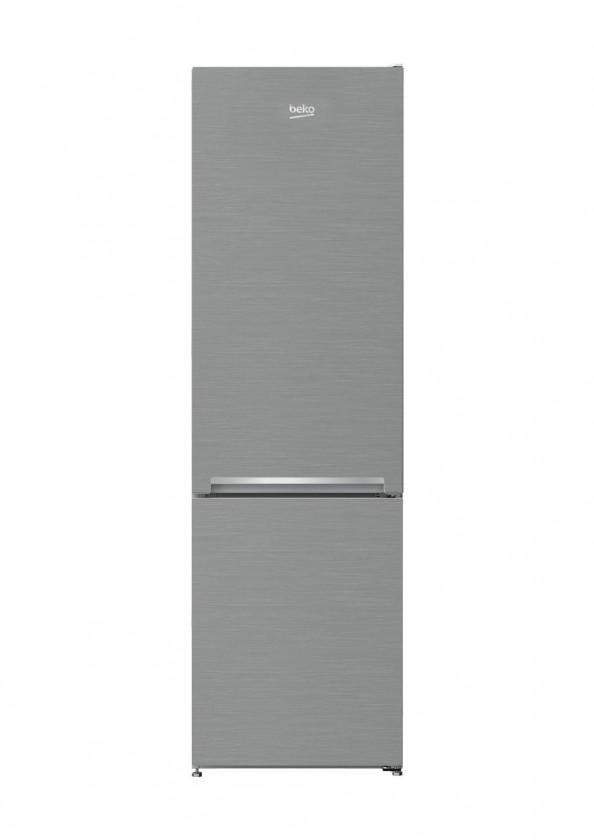 Kombinovaná chladnička Kombinovaná chladnička s mrazničkou dole Beko RCSA 270K30XP, A++