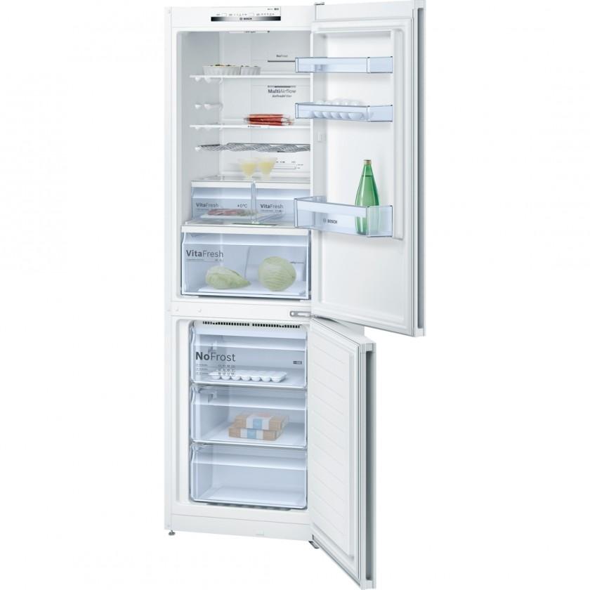 Kombinovaná chladnička Kombinovaná chladnička s mrazničkou dole Bosch KGN 36VW35, A++