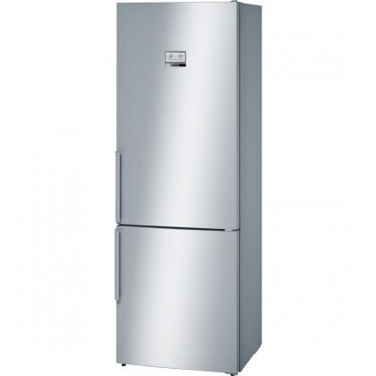 Kombinovaná chladnička Kombinovaná chladnička s mrazničkou dole Bosch KGN49AI31, A++