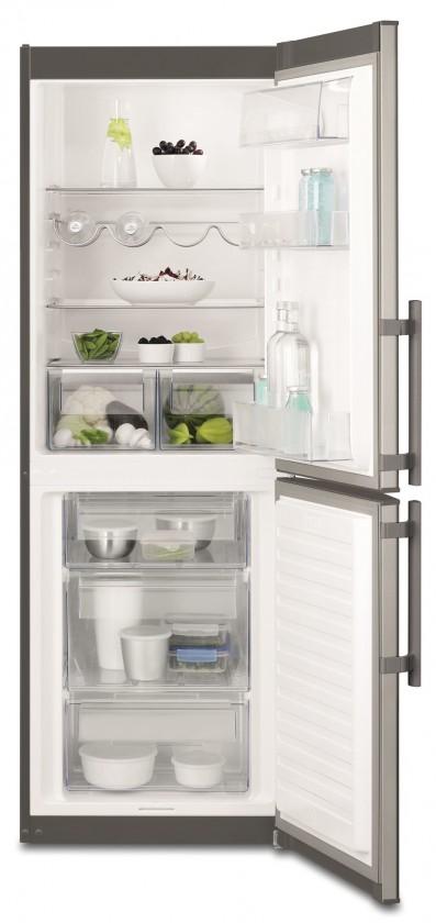 Kombinovaná chladnička Kombinovaná chladnička s mrazničkou dole Electrolux EN 3201MOX