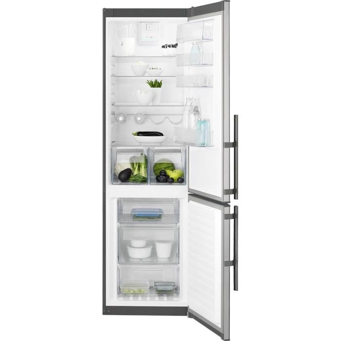 Kombinovaná chladnička Kombinovaná chladnička s mrazničkou dole Electrolux EN3853MOX