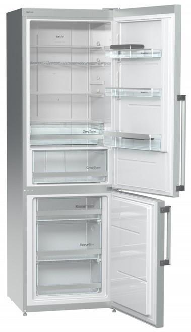 Kombinovaná chladnička Kombinovaná chladnička s mrazničkou dole Gorenje NRK 6192 TX