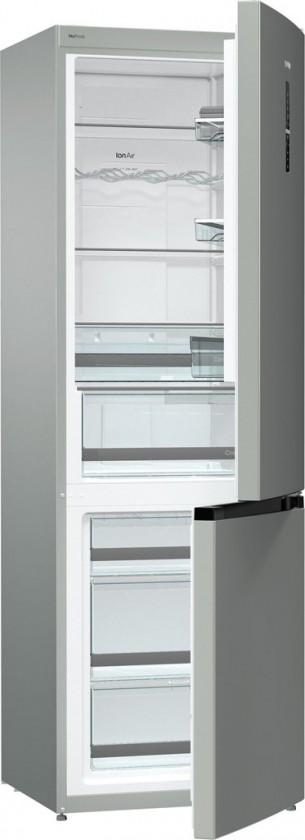 Kombinovaná chladnička Kombinovaná chladnička s mrazničkou dole Gorenje NRK6193TX4,A+++