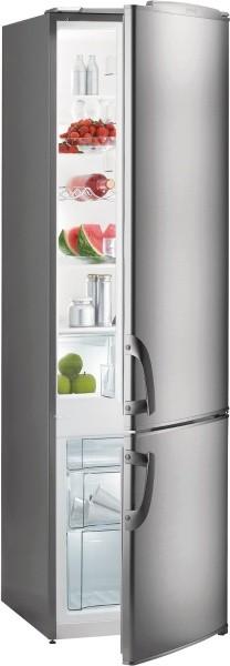 Kombinovaná chladnička Kombinovaná chladnička s mrazničkou dole Gorenje RK 4181 AX, A+