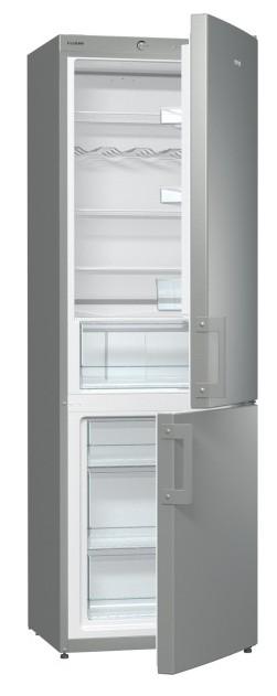 Kombinovaná chladnička Kombinovaná chladnička s mrazničkou dole Gorenje RK 6192 AX, A++