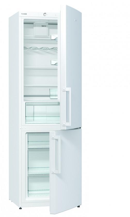 Kombinovaná chladnička Kombinovaná chladnička s mrazničkou dole Gorenje RK 6192 BW, A++