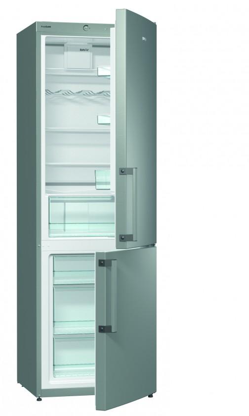 Kombinovaná chladnička Kombinovaná chladnička s mrazničkou dole GORENJE RK 6192 BX, A++