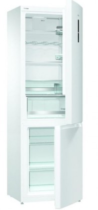 Kombinovaná chladnička Kombinovaná chladnička s mrazničkou dole Gorenje RK6193LW4, A+++