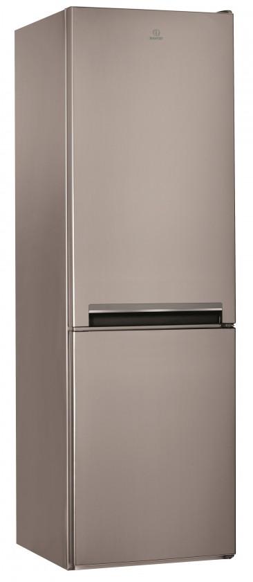 Kombinovaná chladnička Kombinovaná chladnička s mrazničkou dole INDESIT LI8 S1 X, A+