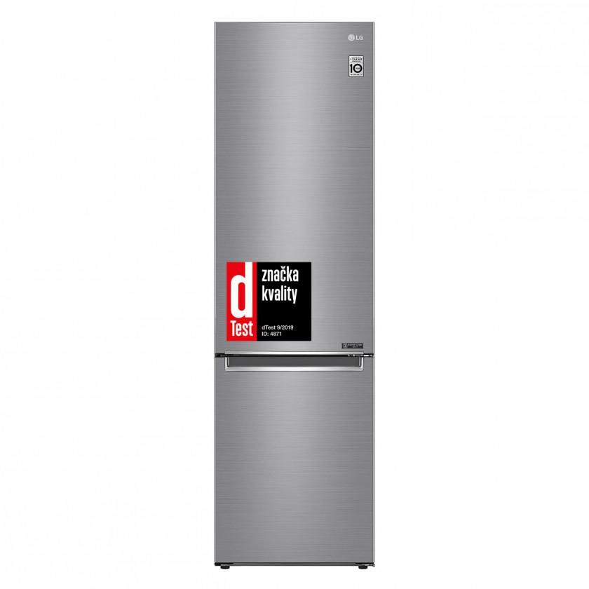 Kombinovaná chladnička Kombinovaná chladnička s mrazničkou dole LG GBB62PZGFN, A+++