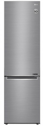 Kombinovaná chladnička Kombinovaná chladnička s mrazničkou dole LG GBB72SAEFN, A+++