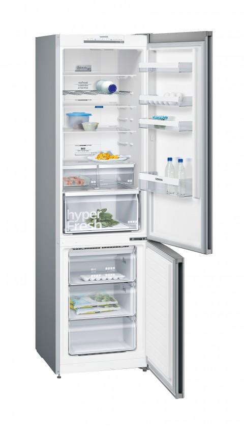 Kombinovaná chladnička Kombinovaná chladnička s mrazničkou dole Siemens KG39NVL45, A+++