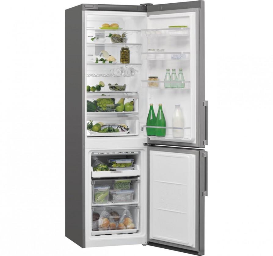 Kombinovaná chladnička Kombinovaná chladnička s mrazničkou dole Whirlpool W7 931T OX H,