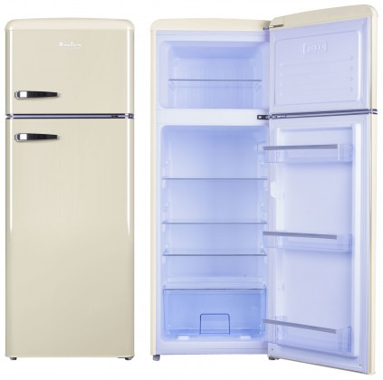 Kombinovaná chladnička Kombinovaná chladnička s mrazničkou hore Amica VD 1442 AM