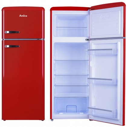Kombinovaná chladnička Kombinovaná chladnička s mrazničkou hore Amica VD 1442 AR