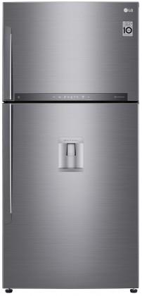 Kombinovaná chladnička Kombinovaná chladnička s mrazničkou hore LG GTF916PZPZD