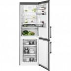 Kombinovaná chladnička s mrazničkou dole AEG RCB 63326 OX, A++