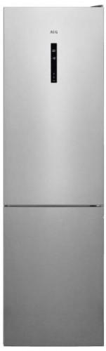 Kombinovaná chladnička s mrazničkou dole AEG RCB736E5MX,A++ POUŽI