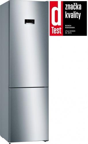 Kombinovaná chladnička s mrazničkou dole Bosch KGN393IDA