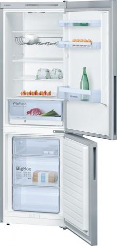 Kombinovaná chladnička s mrazničkou dole Bosch KGV 36VL32, A++ PO
