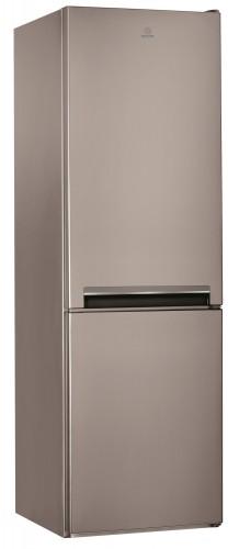 Kombinovaná chladnička s mrazničkou dole INDESIT LI8 S1 X, A+