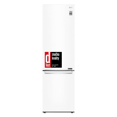 Kombinovaná chladnička s mrazničkou dole LG GBB62SWGFN