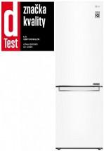 Kombinovaná chladnička s mrazničkou dole LG GBP31SWLZN,A++,biela