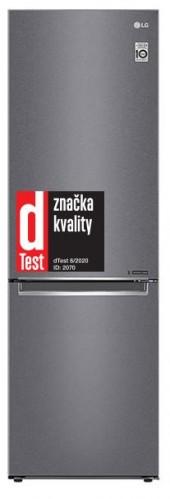 Kombinovaná chladnička s mrazničkou dole LG GBP62DSNFN