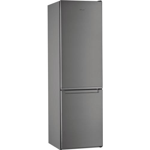 Kombinovaná chladnička s mrazničkou dole Whirlpool W7 921I OX