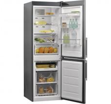Kombinovaná chladnička s mrazničkou dole Whirlpool W9 821D OX H