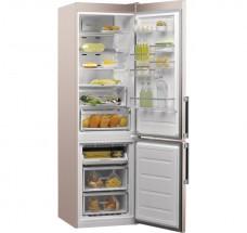 Kombinovaná chladnička s mrazničkou dole Whirlpool W9 931D B H