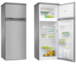 Kombinovaná chladnička s mrazničkou hore Amica VD 1441 AX