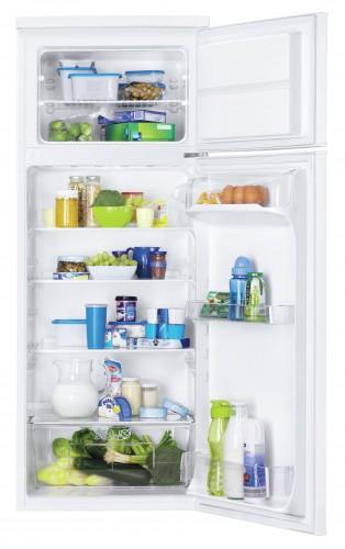 Kombinovaná chladnička s mrazničkou hore Zanussi ZRT23100WA