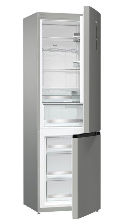 Kombinované chladničky Kombinovaná chladnička s mrazničkou dole Gorenje NRK6193TX4,A+++