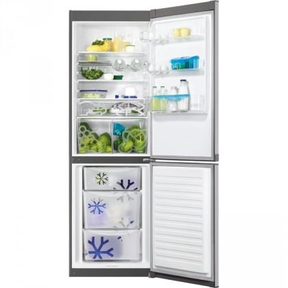 Kombinované chladničky Kombinovaná chladnička s mrazničkou dole Zanussi ZRB 36104XA