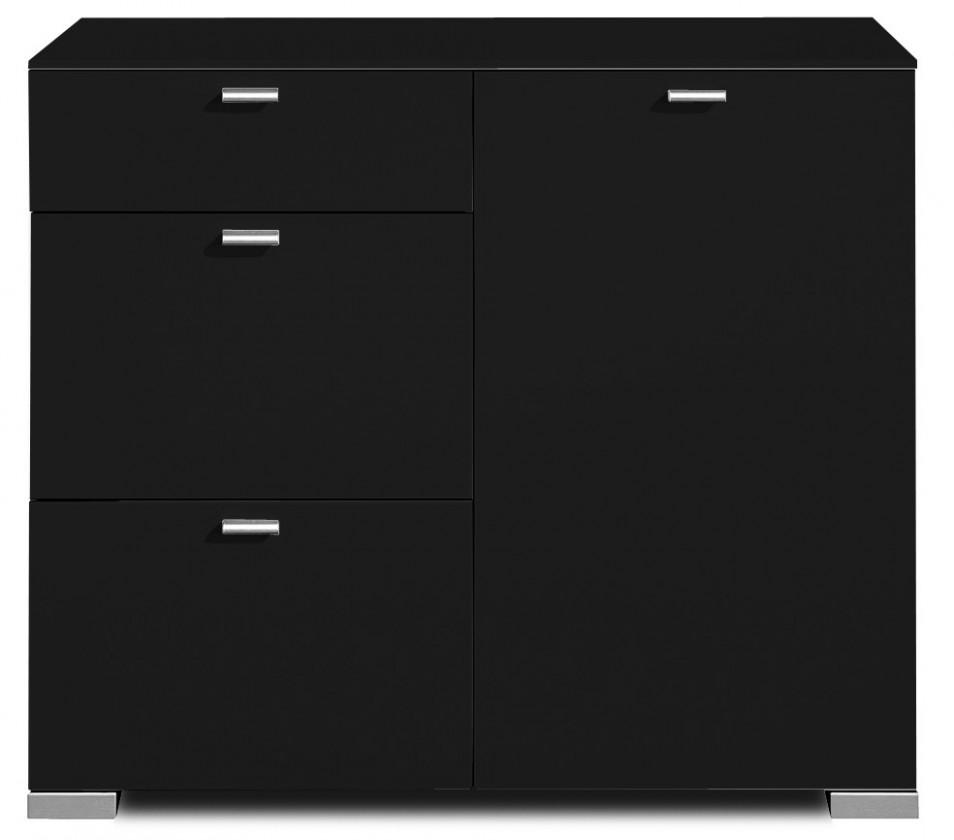 Komoda Gallery 52 - Komoda, M471252 (čierna)