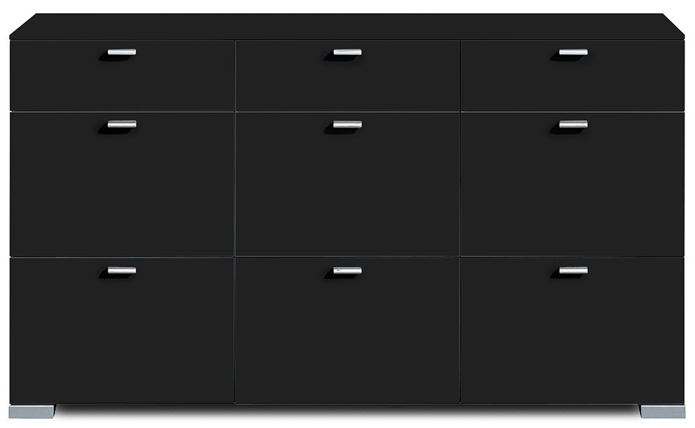 Komoda Gallery 59 - Komoda, M471352 (čierna)