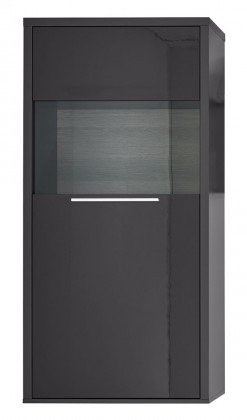 Komoda Gamble - Komoda 570122R (antracit/antracit lesk/panel dub sand)