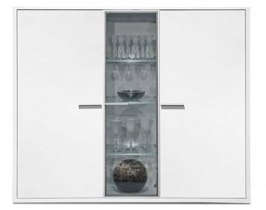 Komoda Game - komoda, 161 cm (biela/biela)