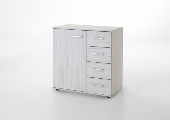 Komoda Kampen 848710(biely dub)