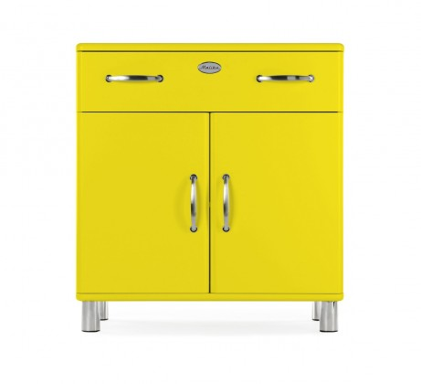 Komoda Malibu - komoda, 2x dvere, 1x zásuvka