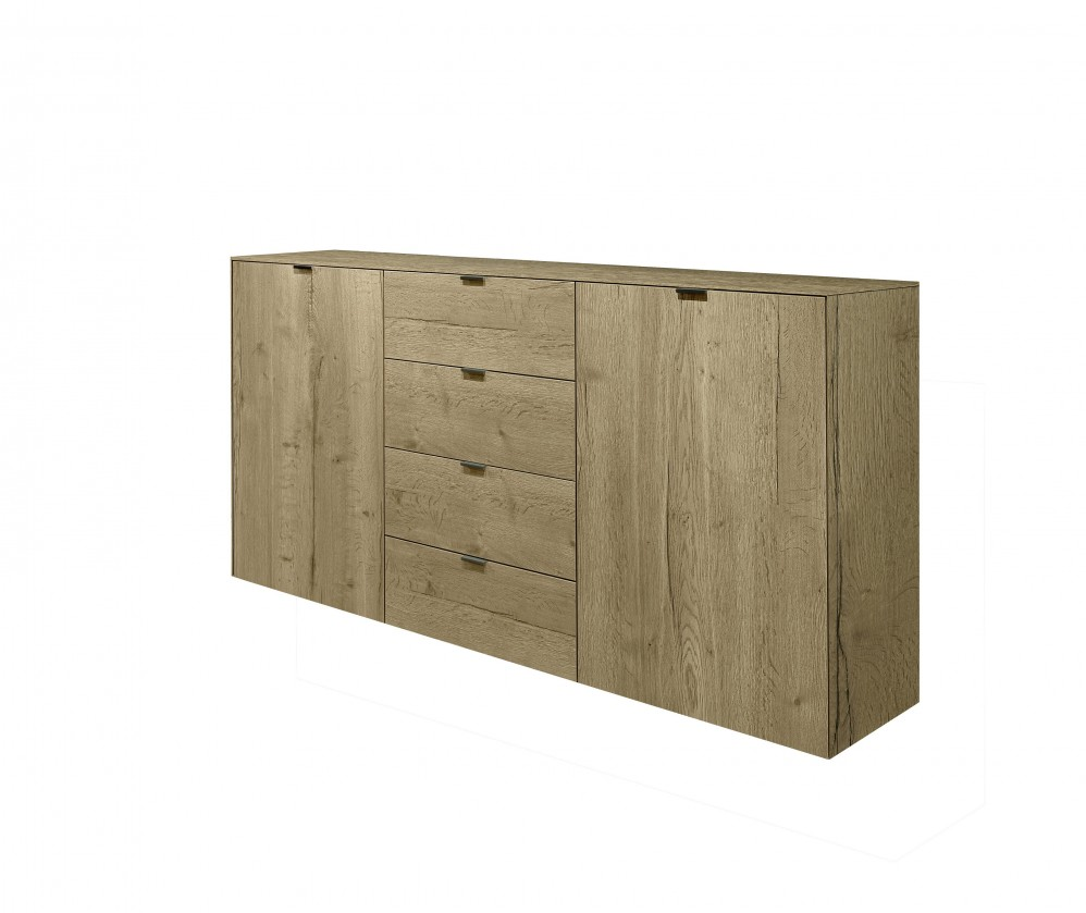 Komoda Tender - 577552 (divoký dub natur/divoký dub natur feelwood)