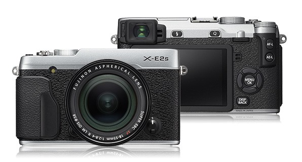 Kompakt s výmenným objektívom Fujifilm X-E2s silver + objektiv XF 18-55mm